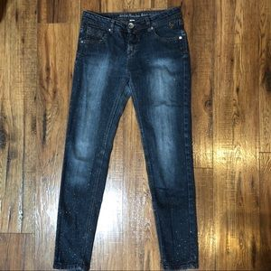 Justice straight leg Girls jeans size 14